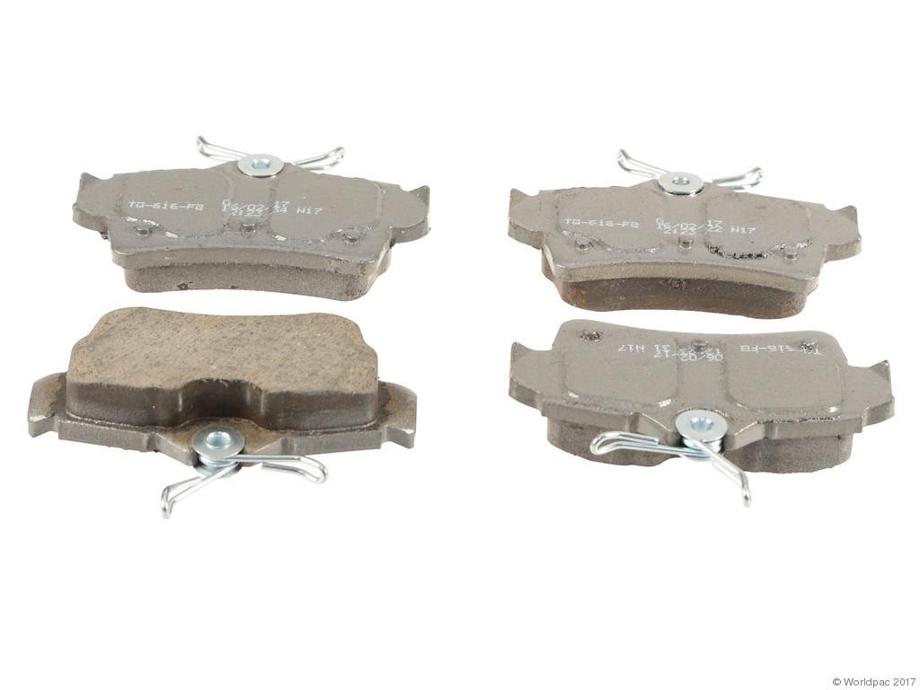 FBS - Wagner Brake Thermoquiet Ceramic Brake Pad Set (Rear) - B2C W0133-2268162-WAG