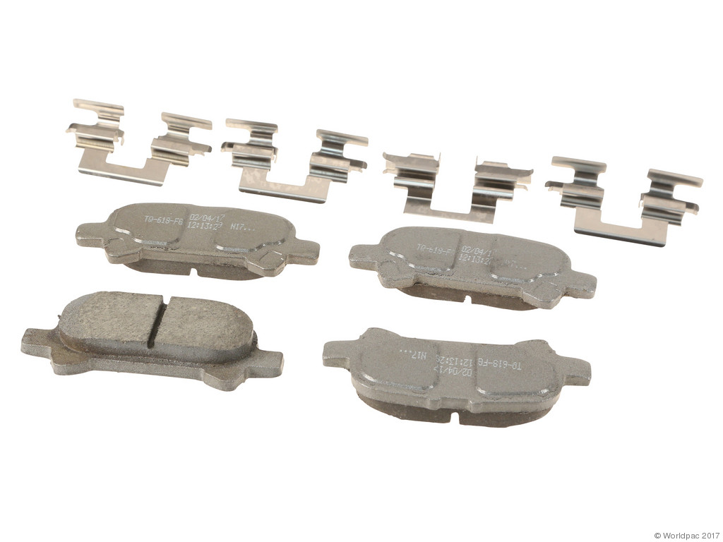FBS - Wagner Brake Thermoquiet Ceramic Brake Pad Set (Rear) - B2C W0133-2268194-WAG