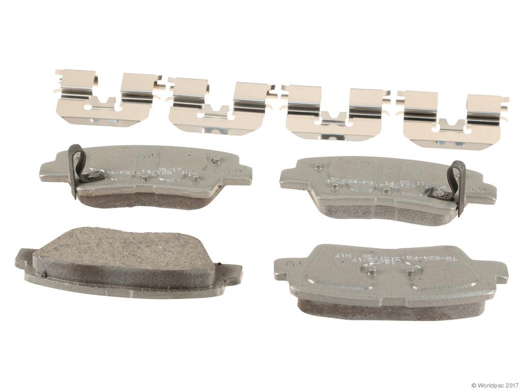 FBS - Wagner Brake Thermoquiet Ceramic Brake Pad Set (Rear) - B2C W0133-2268205-WAG