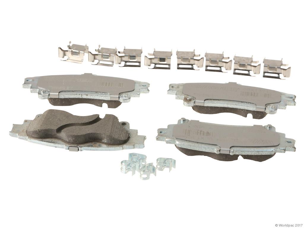 FBS - Wagner Brake OEX Ceramic Brake Pad Set w/Hardware Kit (Rear) - B2C W0133-2268576-WAG