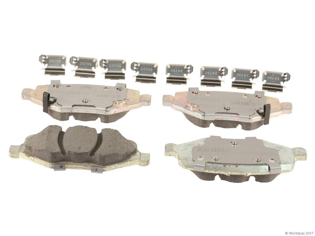 FBS - Wagner Brake OEX Ceramic Brake Pad Set w/Hardware Kit (Rear) - B2C W0133-2268577-WAG