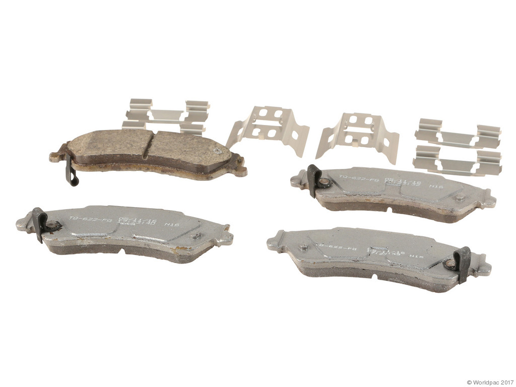 FBS - Wagner Brake Thermoquiet Ceramic Brake Pad Set (Rear) - B2C W0133-2268807-WAG