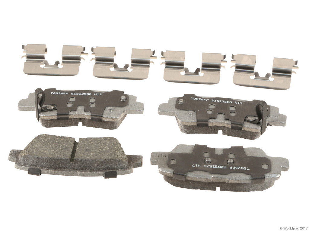 FBS - Wagner Brake Thermoquiet Ceramic Brake Pad Set (Rear) - B2C W0133-2268857-WAG