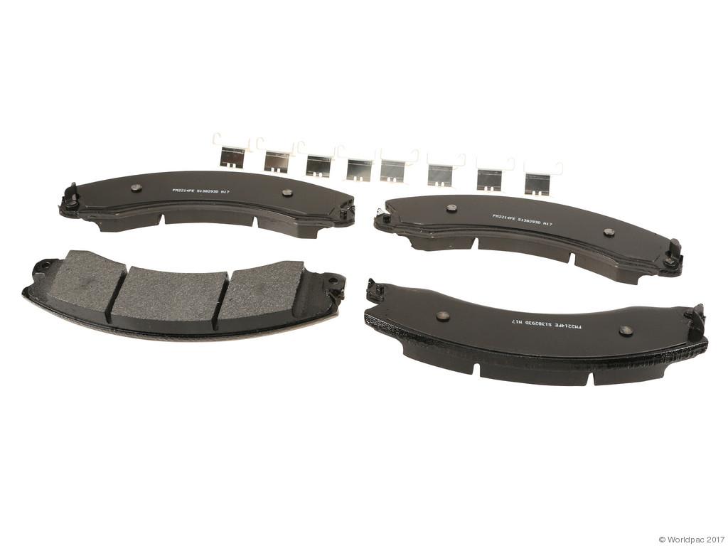 FBS - Wagner Brake Severe Duty Semi-Metallic Brake Pad Set (Rear) - B2C W0133-2268861-WAG