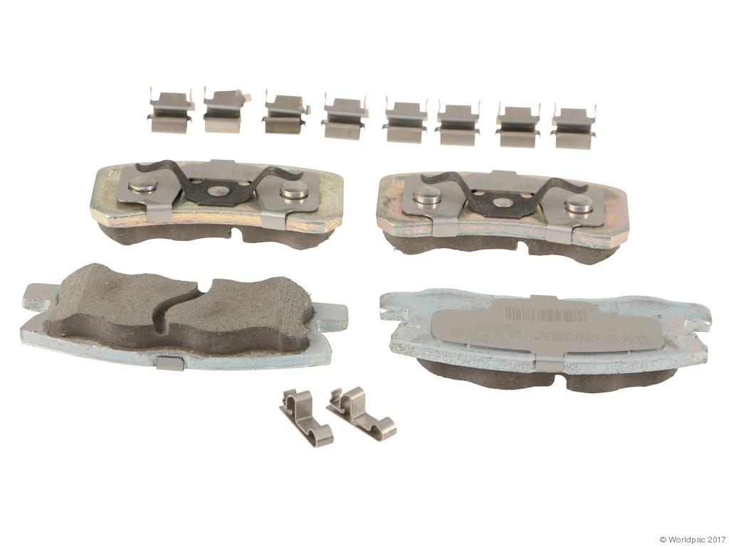 FBS - Wagner Brake OEX Ceramic Brake Pad Set w/Hardware Kit (Rear) - B2C W0133-2268864-WAG