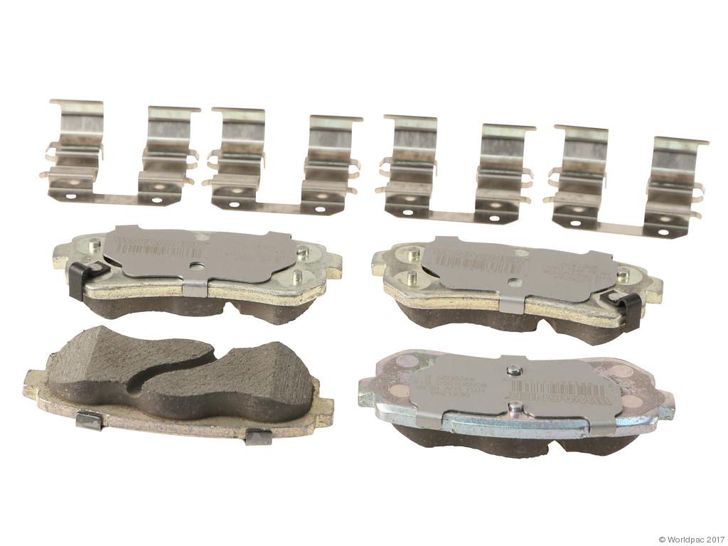 FBS - Wagner Brake OEX Ceramic Brake Pad Set w/Hardware Kit (Rear) - B2C W0133-2268872-WAG