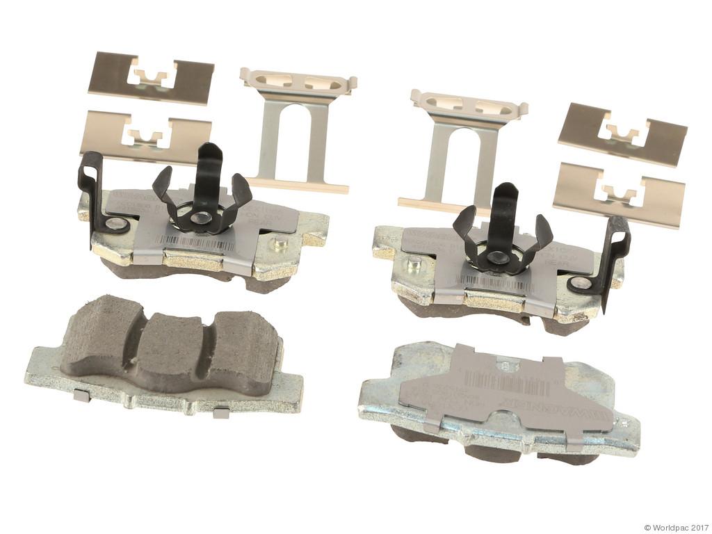 FBS - Wagner Brake OEX Ceramic Brake Pad Set w/Hardware Kit (Rear) - B2C W0133-2268889-WAG