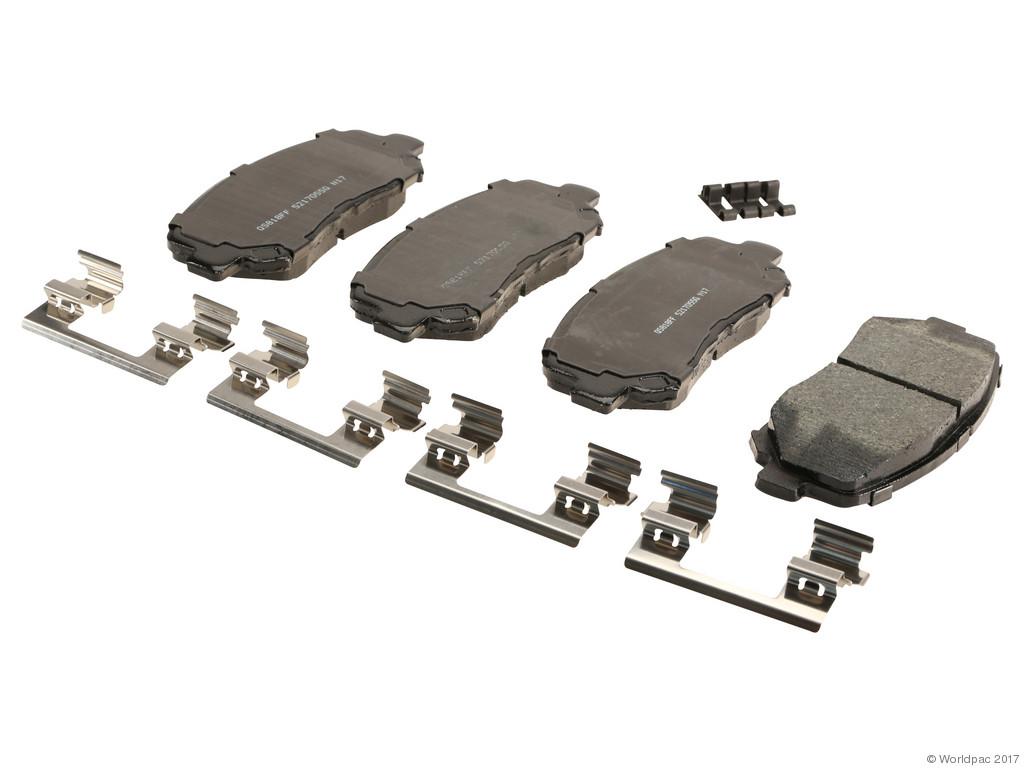 FBS - Wagner Brake Quick Stop Ceramic Brake Pad Set (Front) - B2C W0133-2269401-WAG