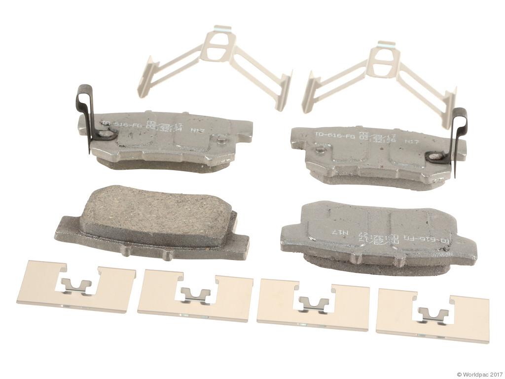 FBS - Wagner Brake Thermoquiet Ceramic Brake Pad Set (Rear) - B2C W0133-2273122-WAG
