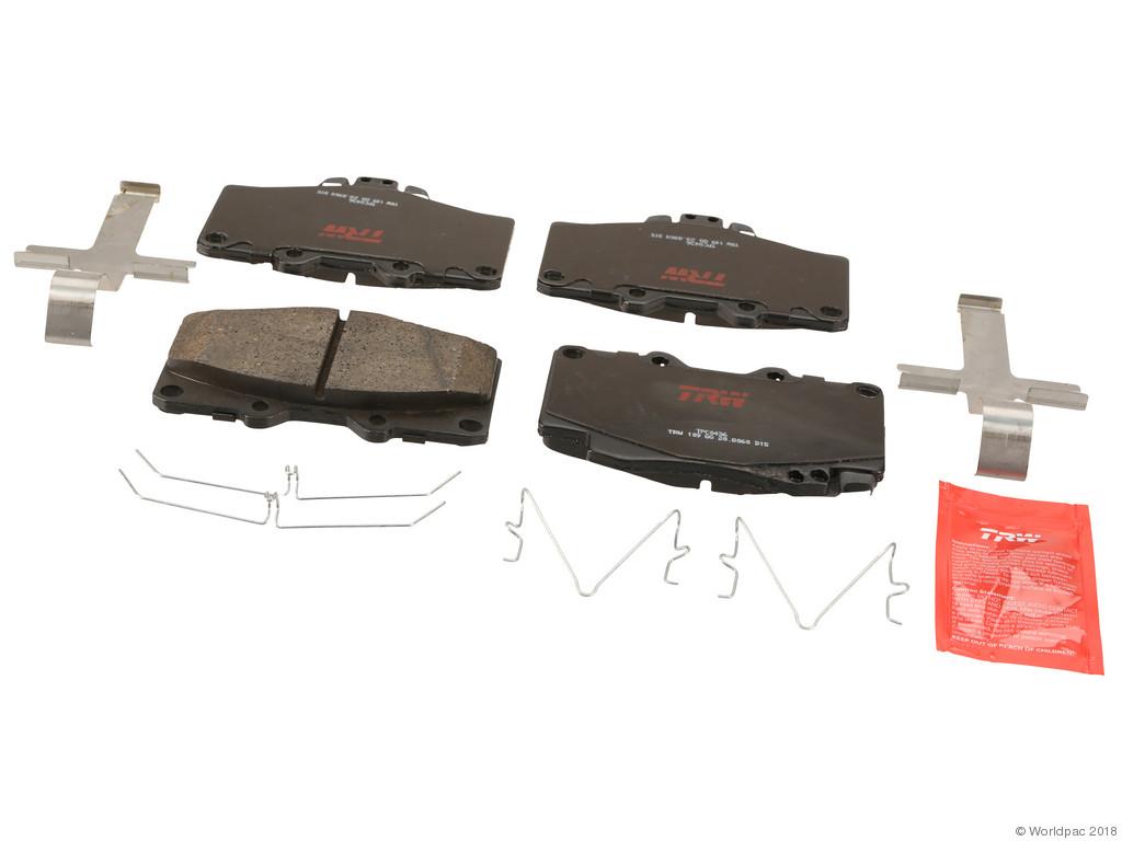 FBS - TRW Ceramic Brake Pad Set Premium (Front) - B2C W0133-2283068-TRW