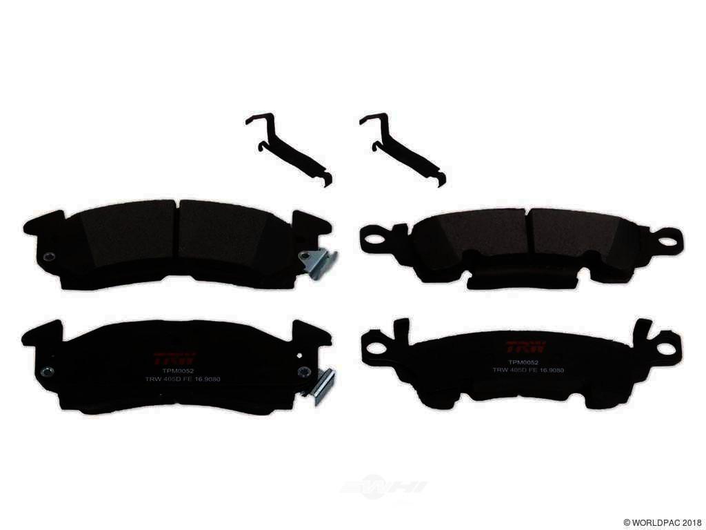 FBS - TRW Semi-Metallic Brake Pad Set Premium - B2C W0133-2283273-TRW