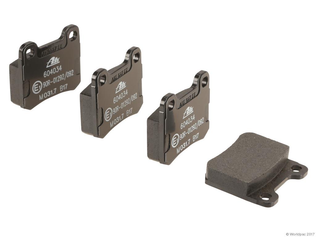 FBS - ATE Original OE Formulated Brake Pad Set w/ Shims (Rear) - B2C W0133-2283326-ATE