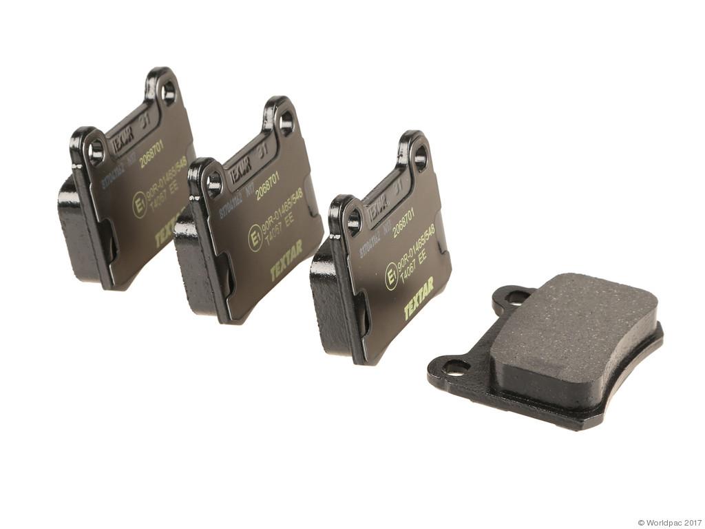FBS - Textar OE Replacement Brake Pad Set w/ Shims (Rear) - B2C W0133-2283326-TEX