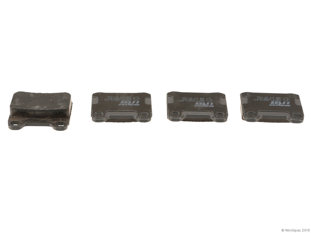 FBS - TRW Premium OE Formulated Brake Pad Set w/Shims (Rear) - B2C W0133-2283326-TRW