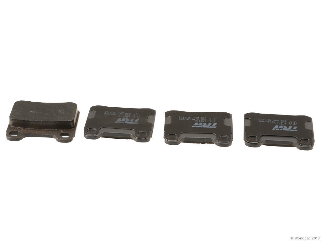 FBS - TRW Premium OE Formulated Brake Pad Set w/Shims (Rear) - B2C W0133-2283385-TRW
