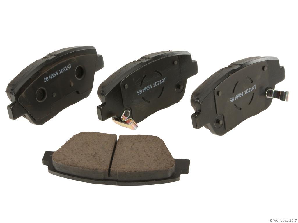 FBS - Sangsin OE Replacement Brake Pad Set Ceramic - w/ Shims (Front) - B2C W0133-2327209-SBC