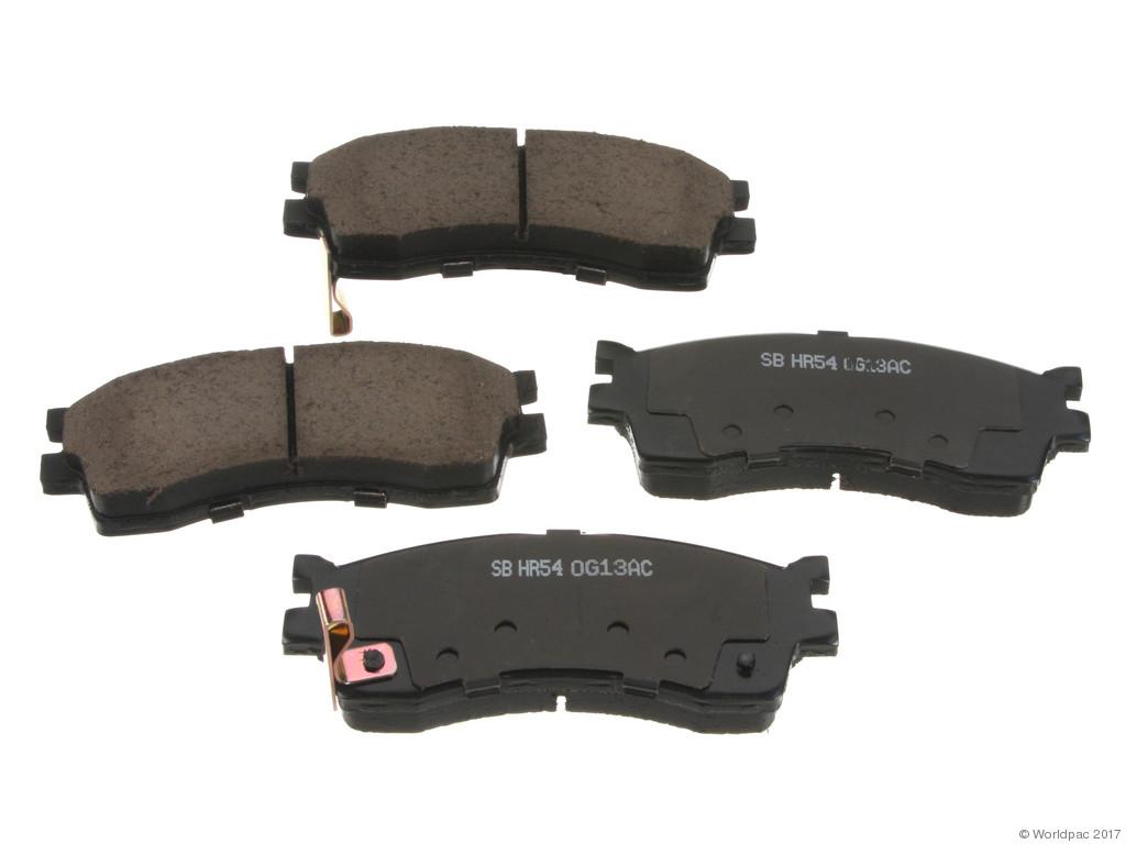 Sangsin -  OE Replacement Brake Pad Set Ceramic - w/ Shims (Front) - B2C W0133-2328540-SBC