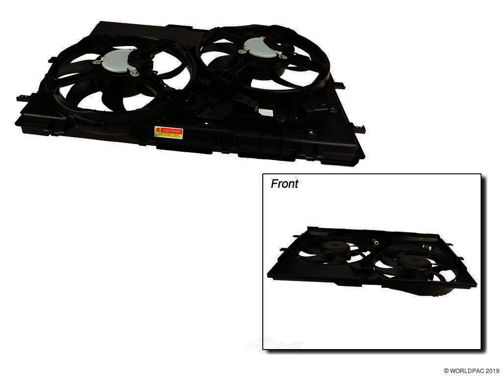 FBS - TYC Cooling Fan Module - B2C W0133-2856391-TYC