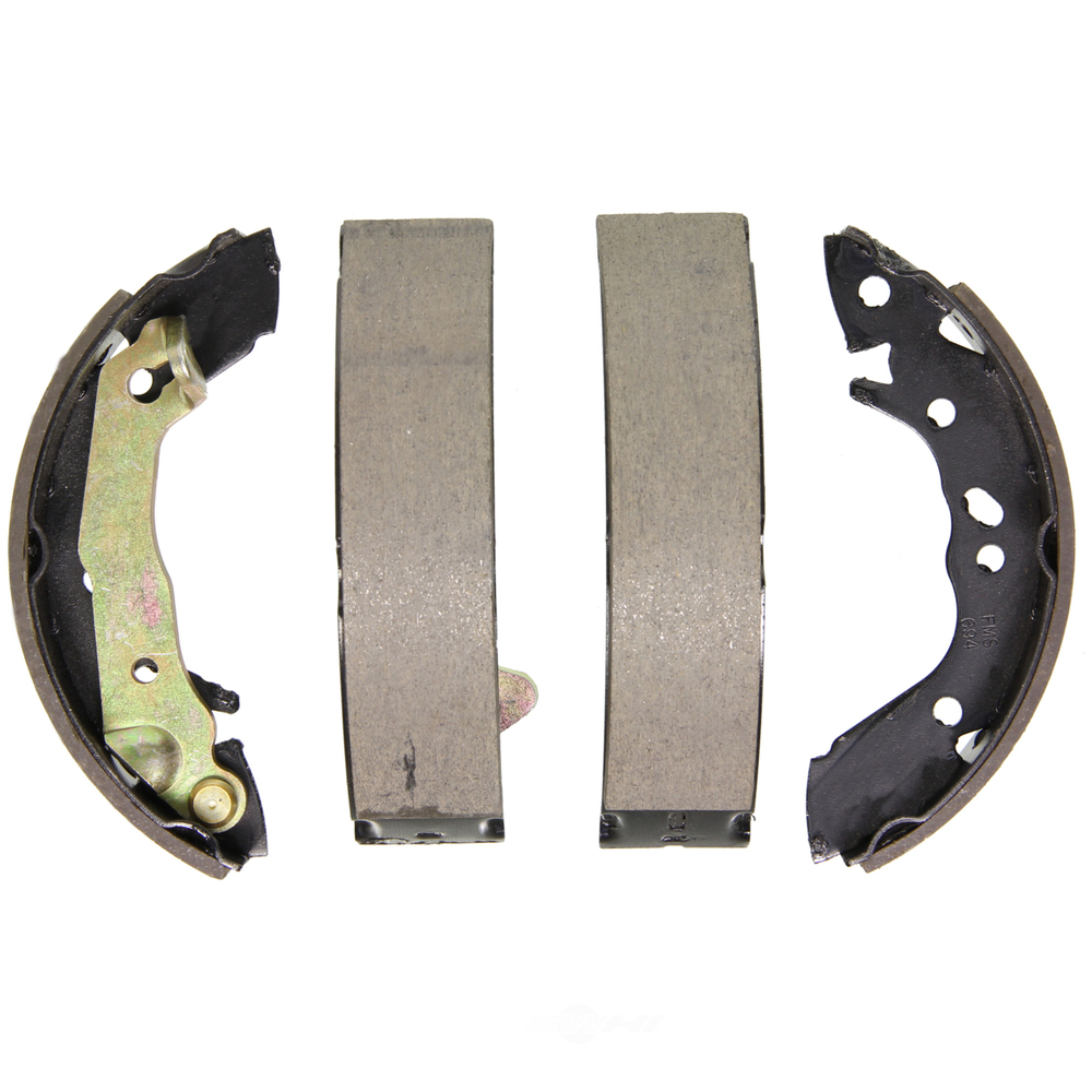 WAGNER BRAKE - QuickStop Drum Brake Shoe (Rear) - WGC Z694