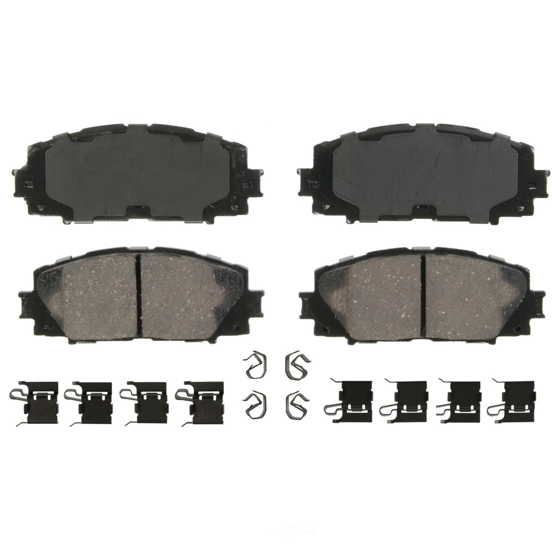 WAGNER BRAKE - QuickStop Disc Brake Pad (Front) - WGC ZD1184