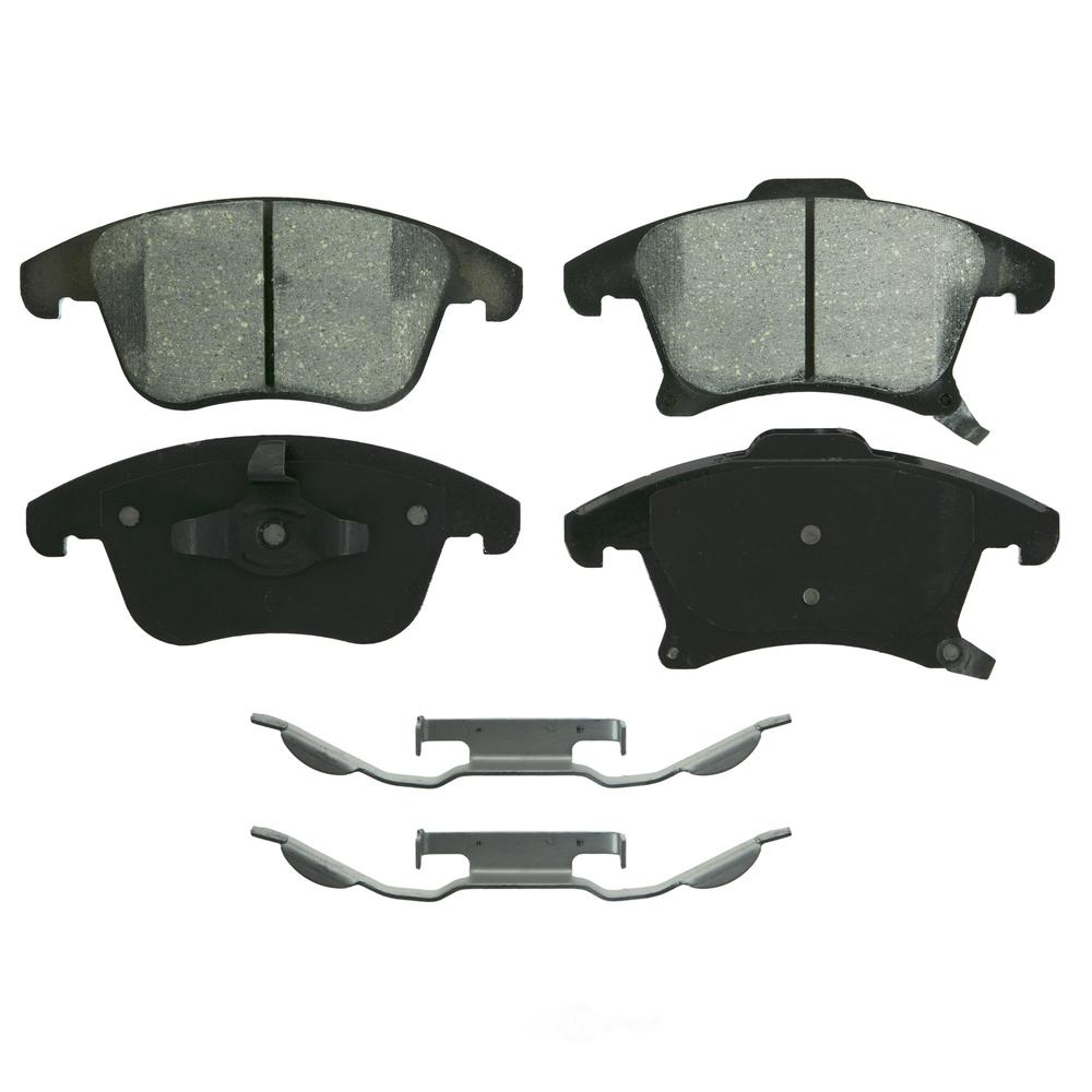 WAGNER BRAKE - QuickStop Disc Brake Pad (Front) - WGC ZD1653