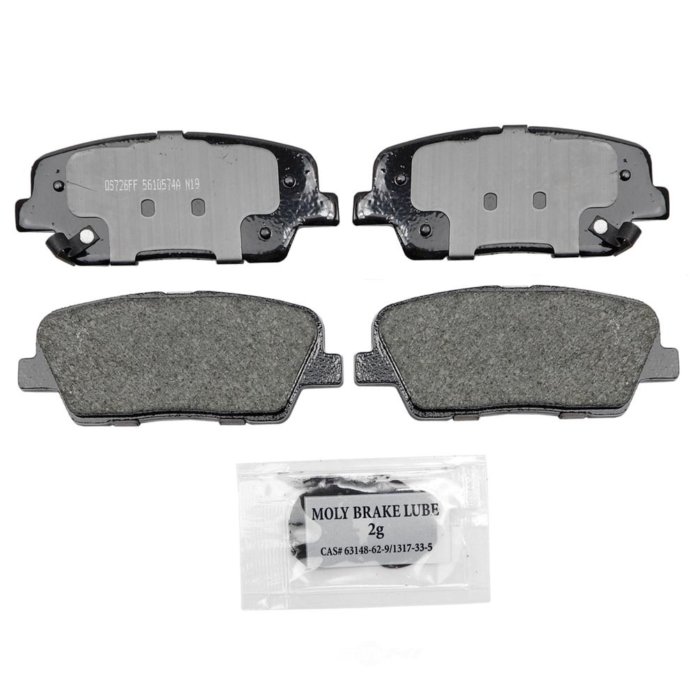 WAGNER BRAKE - QuickStop Disc Brake Pad (Rear) - WGC ZD1816A