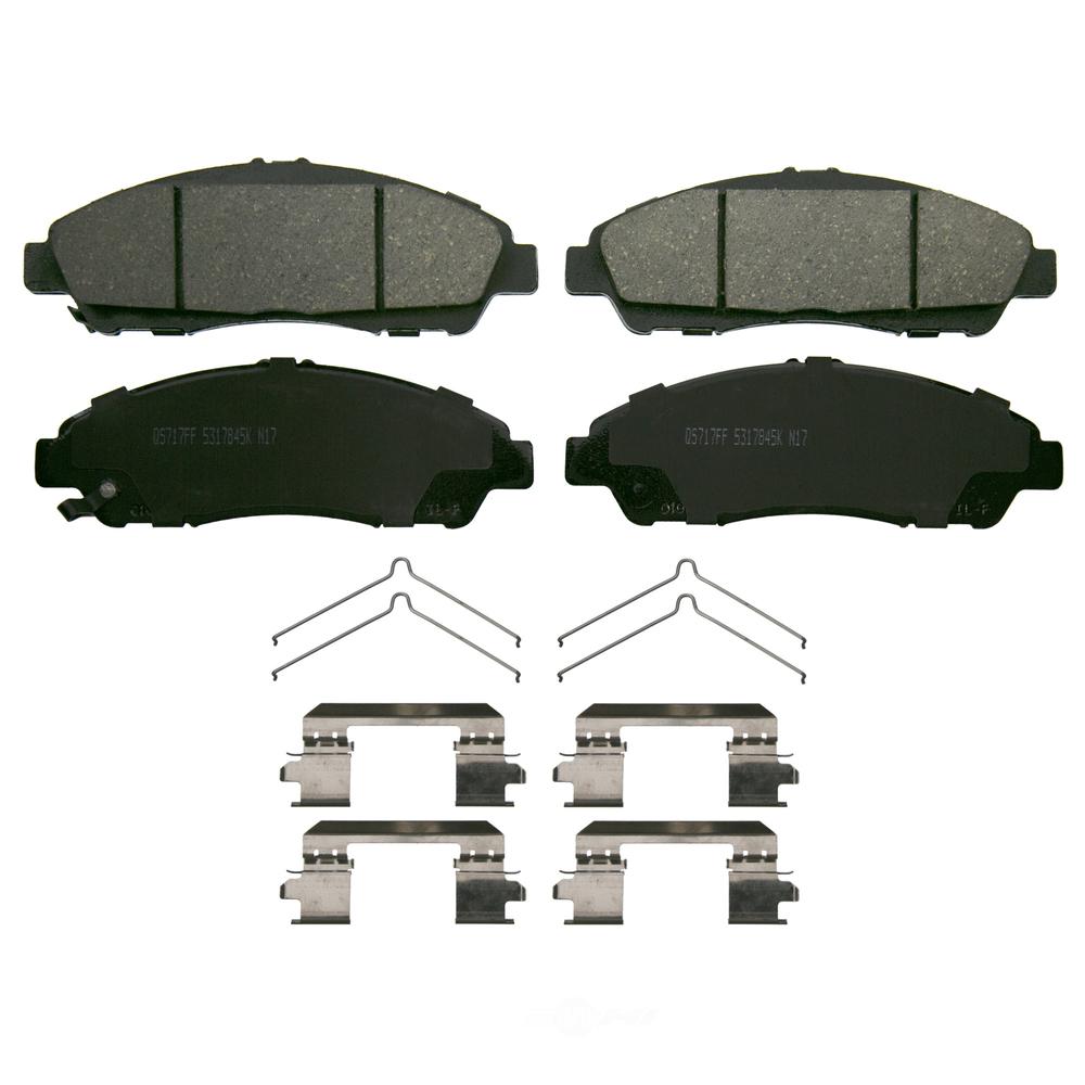 WAGNER BRAKE - QuickStop Disc Brake Pad (Front) - WGC ZD1896
