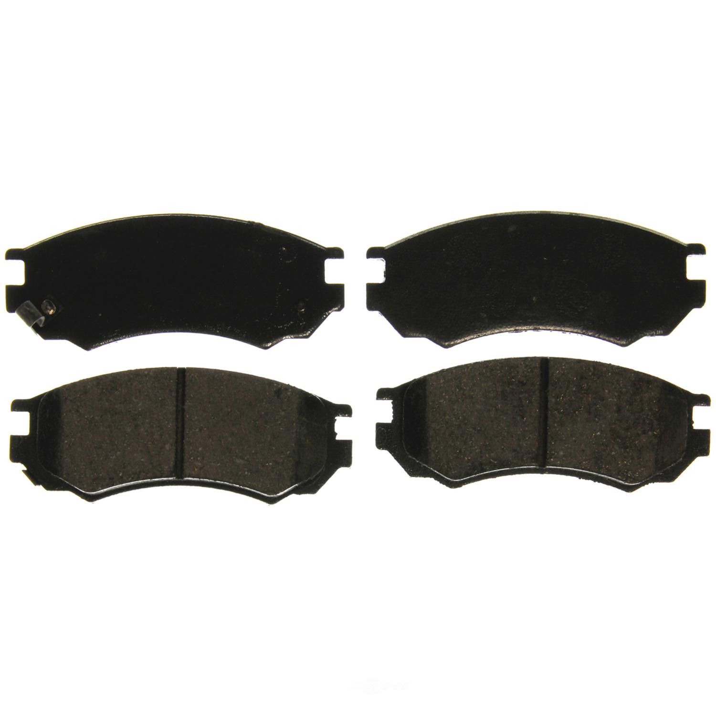 WAGNER BRAKE - QuickStop Disc Brake Pad (Front) - WGC ZD549