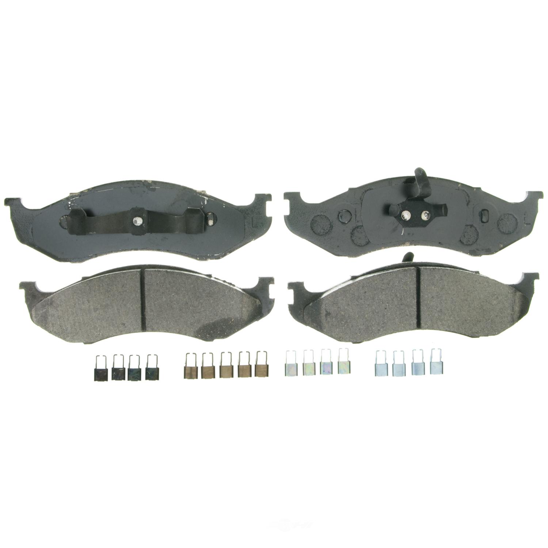 WAGNER BRAKE - QuickStop Disc Brake Pad (Front) - WGC ZD712