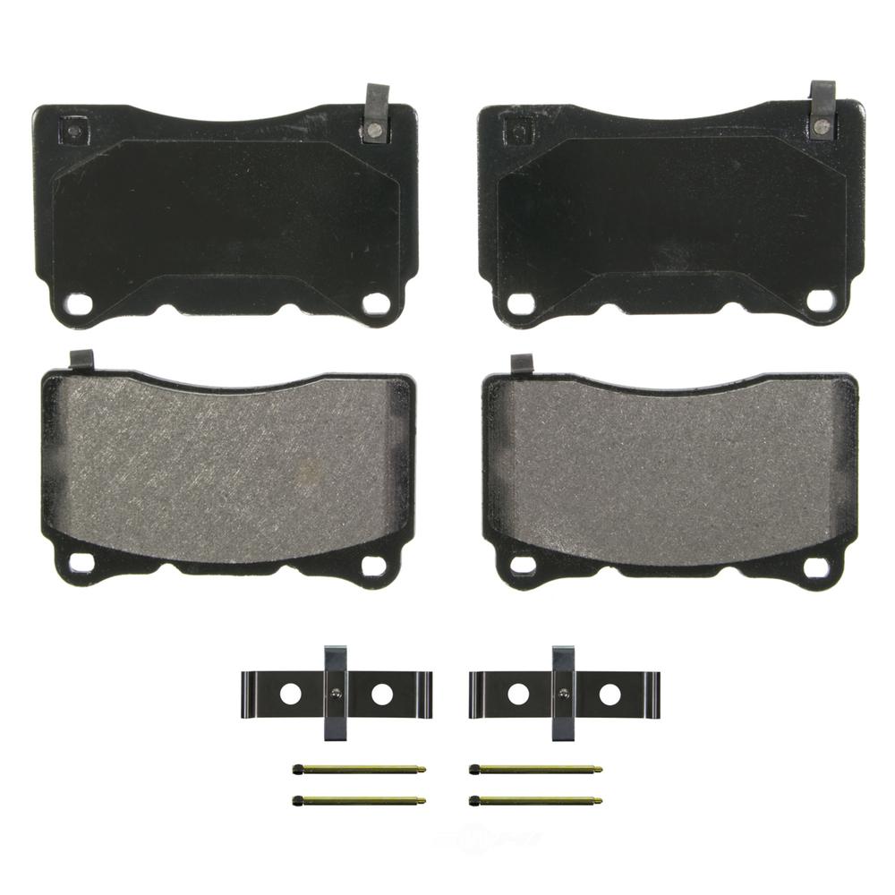 WAGNER BRAKE - QuickStop Disc Brake Pad - WGC ZX1050