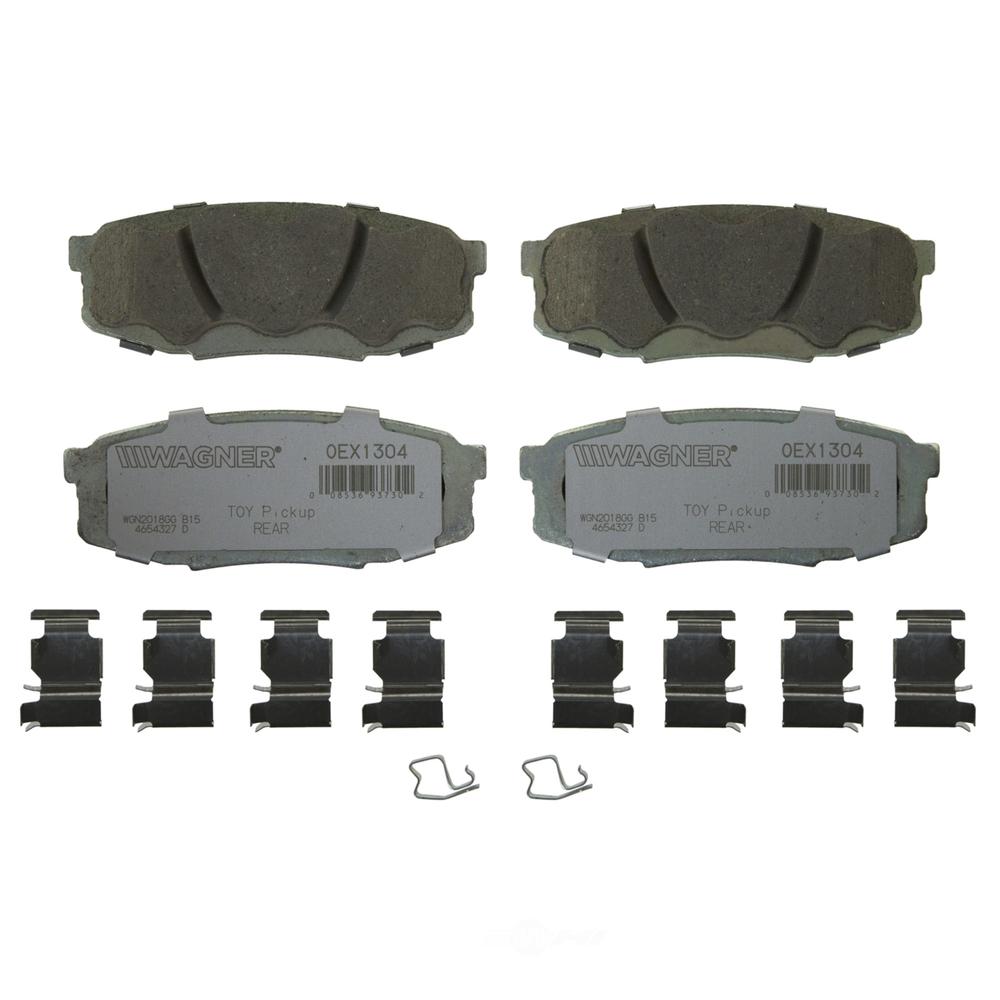 WAGNER BRAKE - OEX Disc Brake Pad (Rear) - WGC OEX1304