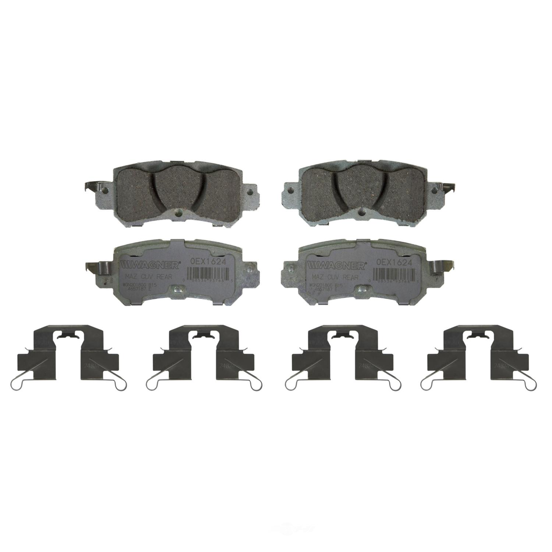 WAGNER BRAKE - OEX Disc Brake Pad (Rear) - WGC OEX1624