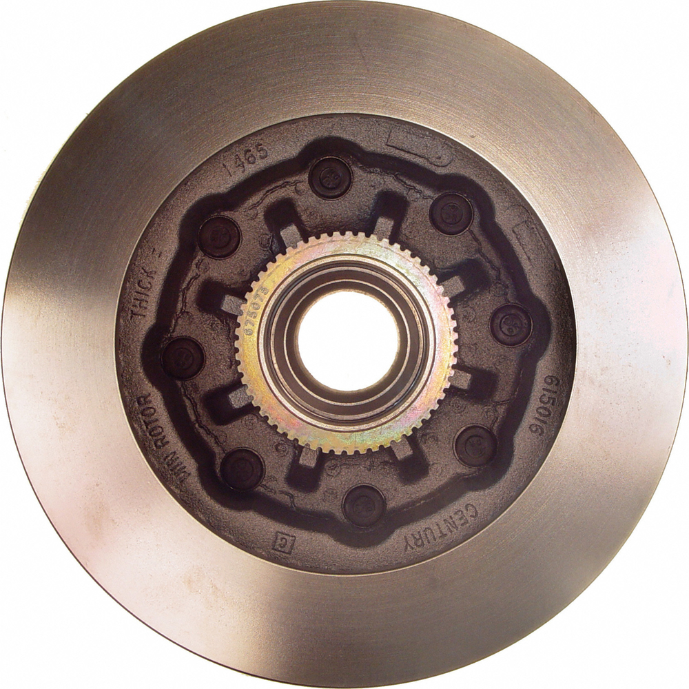 WAGNER BRAKE - Disc Brake Rotor and Hub Assembly (Front) - WGC BD125333