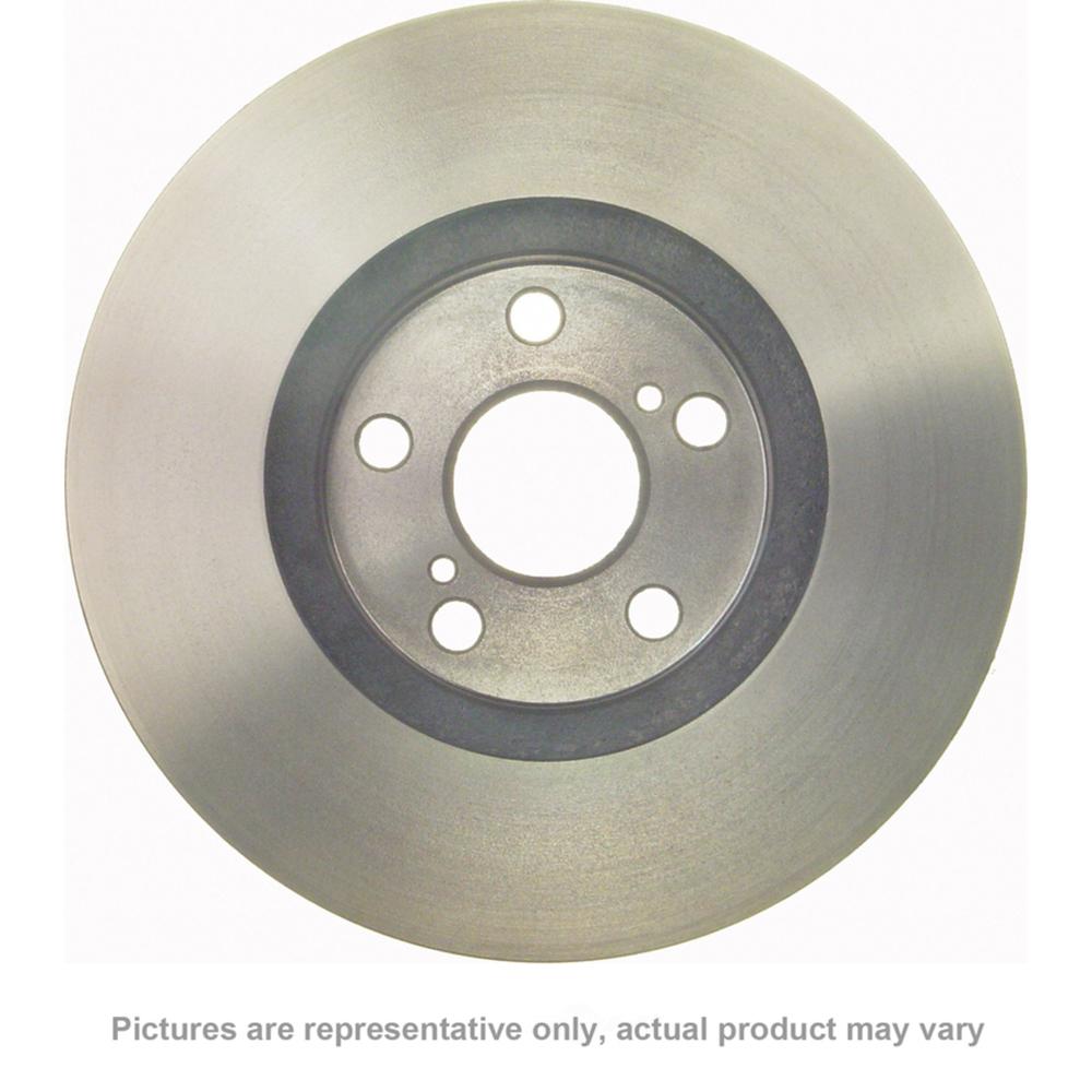 WAGNER BRAKE - Disc Brake Rotor (Rear) - WGC BD180491