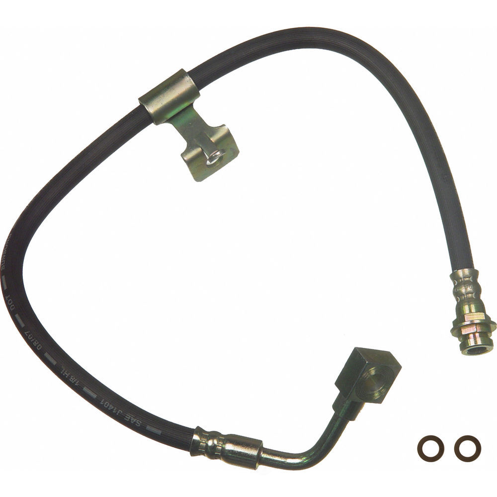 WAGNER BRAKE - Brake Hydraulic Hose (Front Right) - WGC BH110158