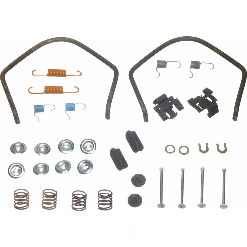 WAGNER BRAKE - Drum Brake Hardware Kit (Rear) - WGC H17224