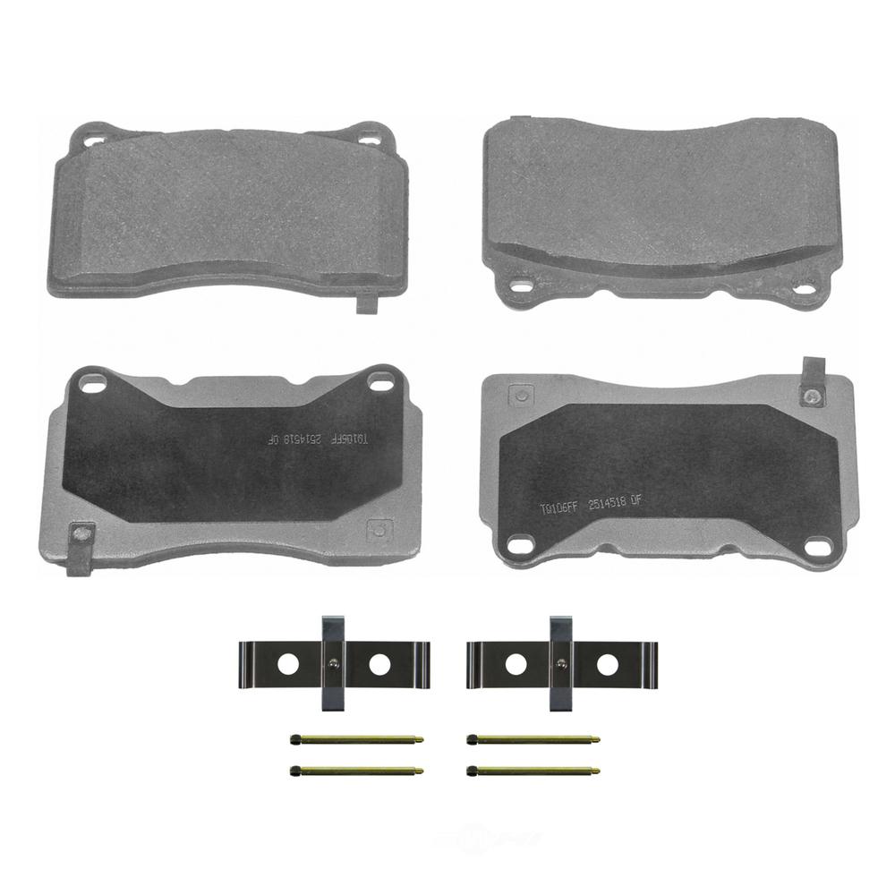 WAGNER BRAKE - ThermoQuiet Disc Brake Pad - WGC MX1050