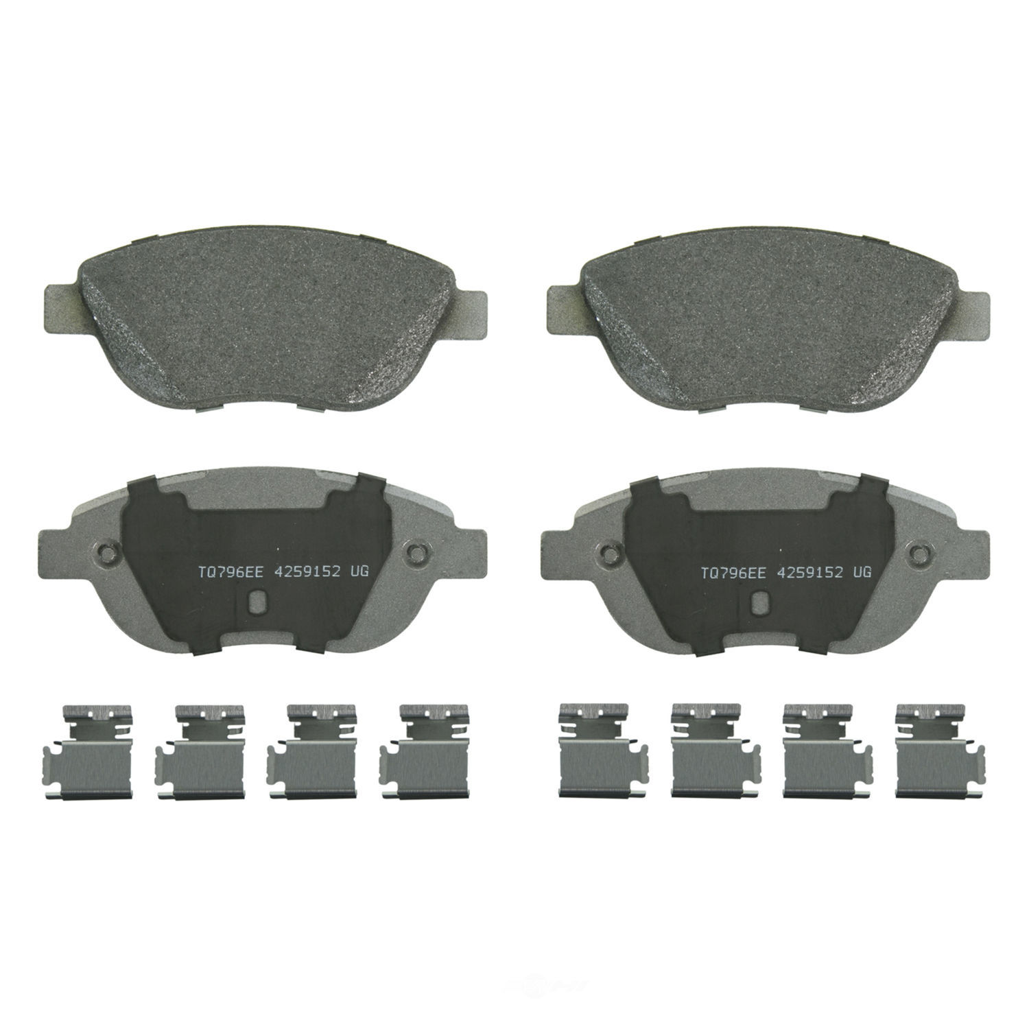 WAGNER BRAKE - ThermoQuiet Disc Brake Pad (Front) - WGC MX1618A
