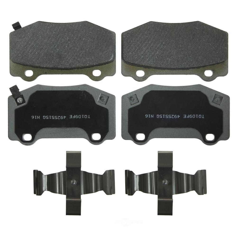 WAGNER BRAKE - ThermoQuiet Disc Brake Pad (Rear) - WGC MX1718