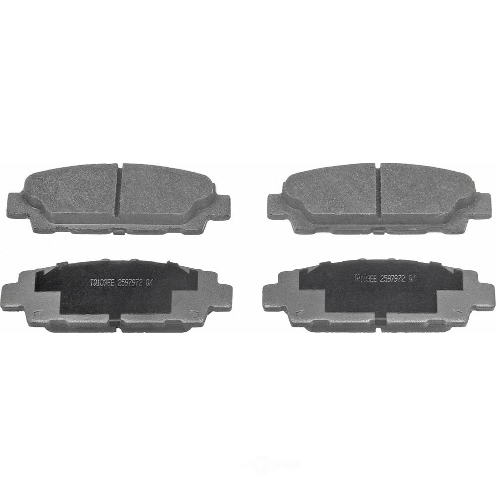 WAGNER BRAKE - ThermoQuiet Disc Brake Pad (Rear) - WGC MX488