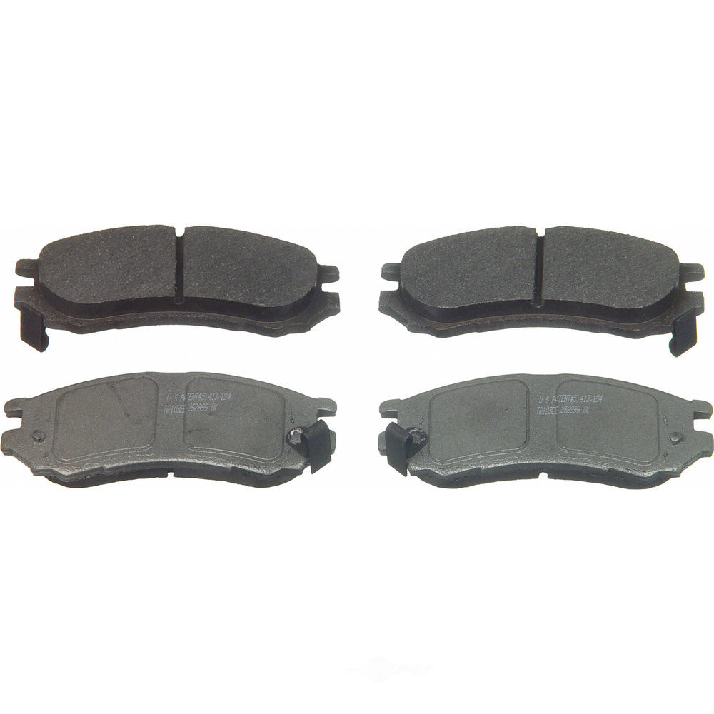 WAGNER BRAKE - ThermoQuiet Disc Brake Pad (Front) - WGC MX728