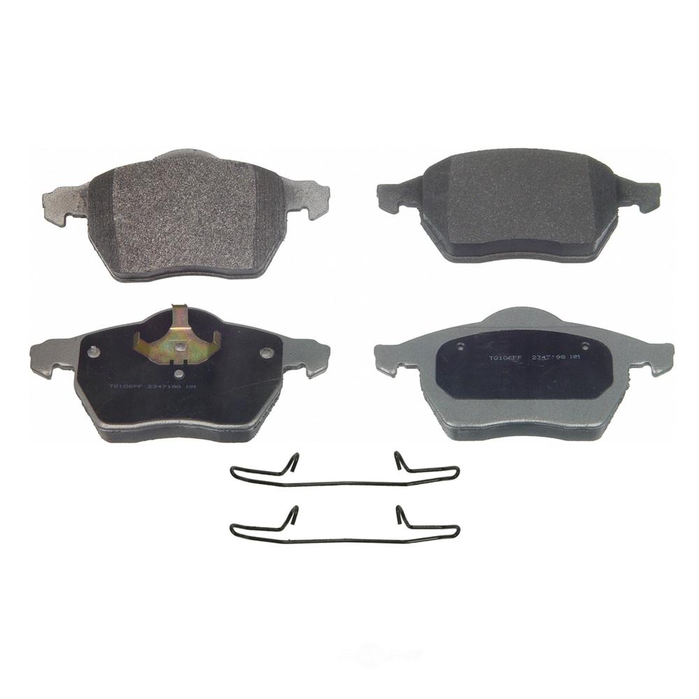 WAGNER BRAKE - ThermoQuiet Disc Brake Pad (Front) - WGC MX840C