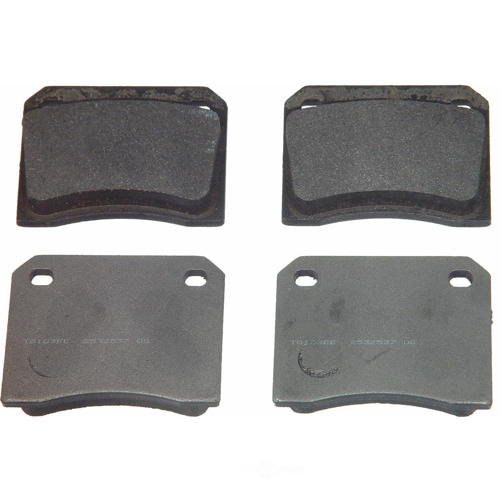 WAGNER BRAKE - ThermoQuiet Disc Brake Pad (Rear) - WGC MX9