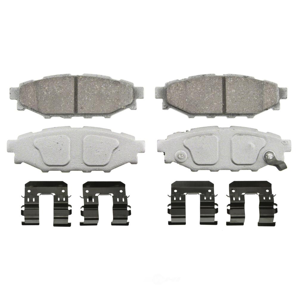 WAGNER BRAKE - ThermoQuiet Disc Brake Pad (Rear) - WGC PD1114