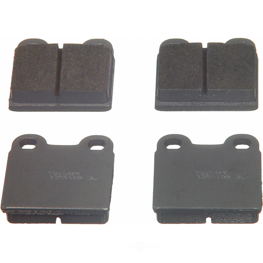 WAGNER BRAKE - ThermoQuiet Disc Brake Pad - WGC PD30
