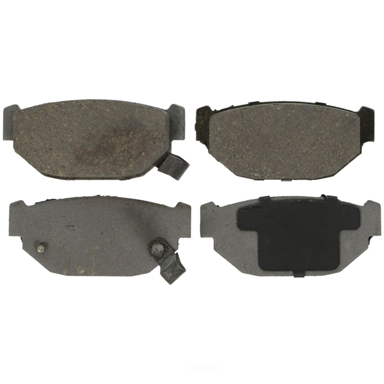 WAGNER BRAKE - ThermoQuiet Disc Brake Pad (Rear) - WGC PD314