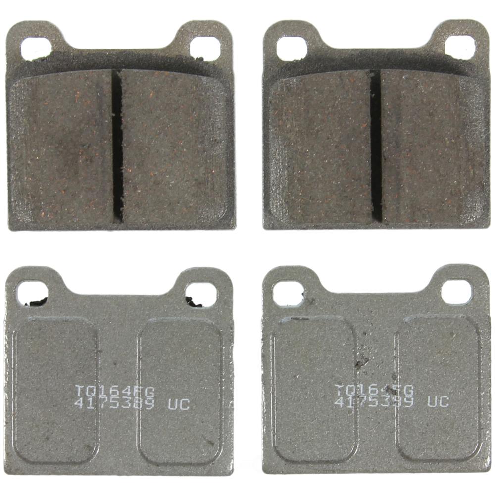 WAGNER BRAKE - ThermoQuiet Disc Brake Pad - WGC PD31