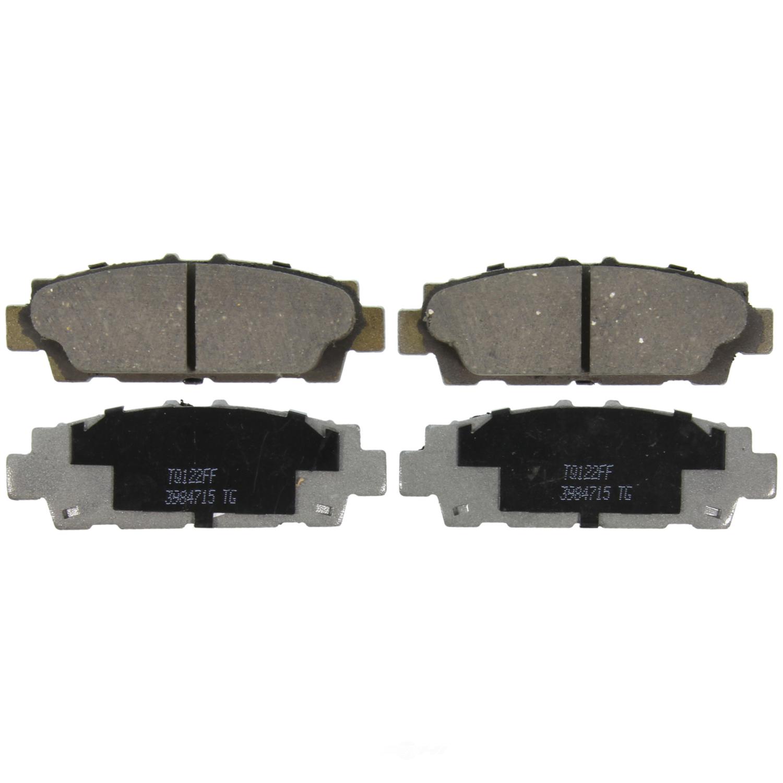 WAGNER BRAKE - ThermoQuiet Disc Brake Pad (Rear) - WGC PD488