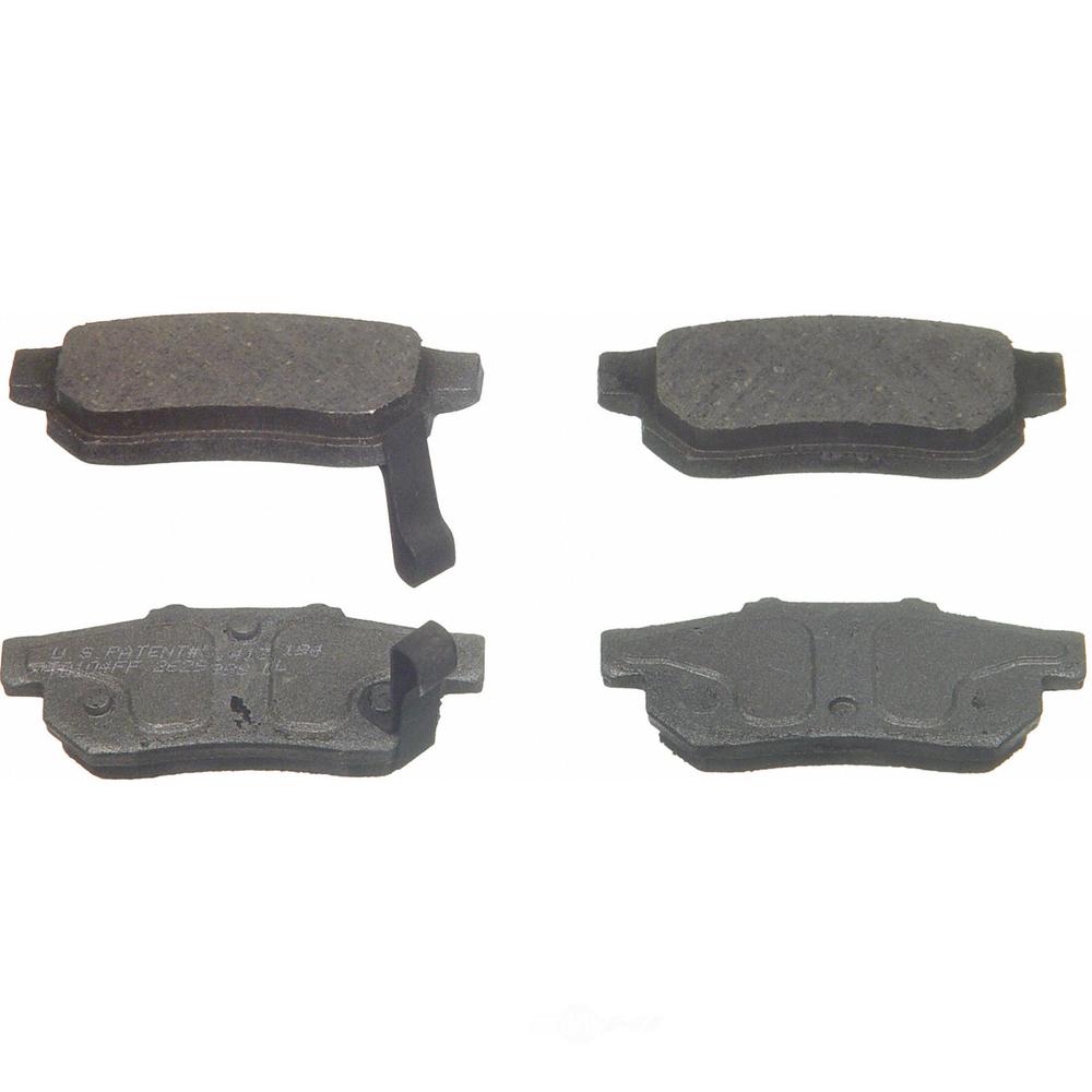 WAGNER BRAKE - ThermoQuiet Disc Brake Pad (Rear) - WGC PD564