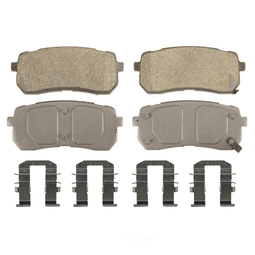 WAGNER BRAKE - ThermoQuiet Disc Brake Pad (Rear) - WGC QC1302